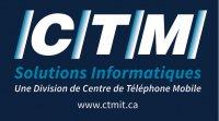 logo C.T.M. (Centre de téléphone mobile ltée)
