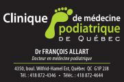 Emplois chez Clinique de médecine podiatrique de québec (c.m.p.q.) inc.