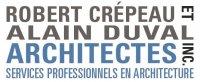 Emplois chez Robert Crépeau et Alain Duval, architectes inc.